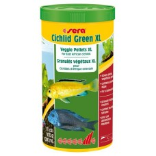 Корм для рыб Sera Cichlid Green XL 1л
