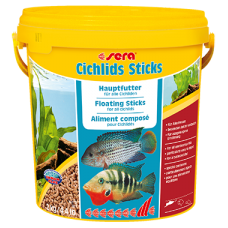 Корм для рыб Sera CICHLIDs Sticks 10л ведро