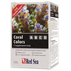 Добавка Red Sea Coral Colors ABCD 4x100мл